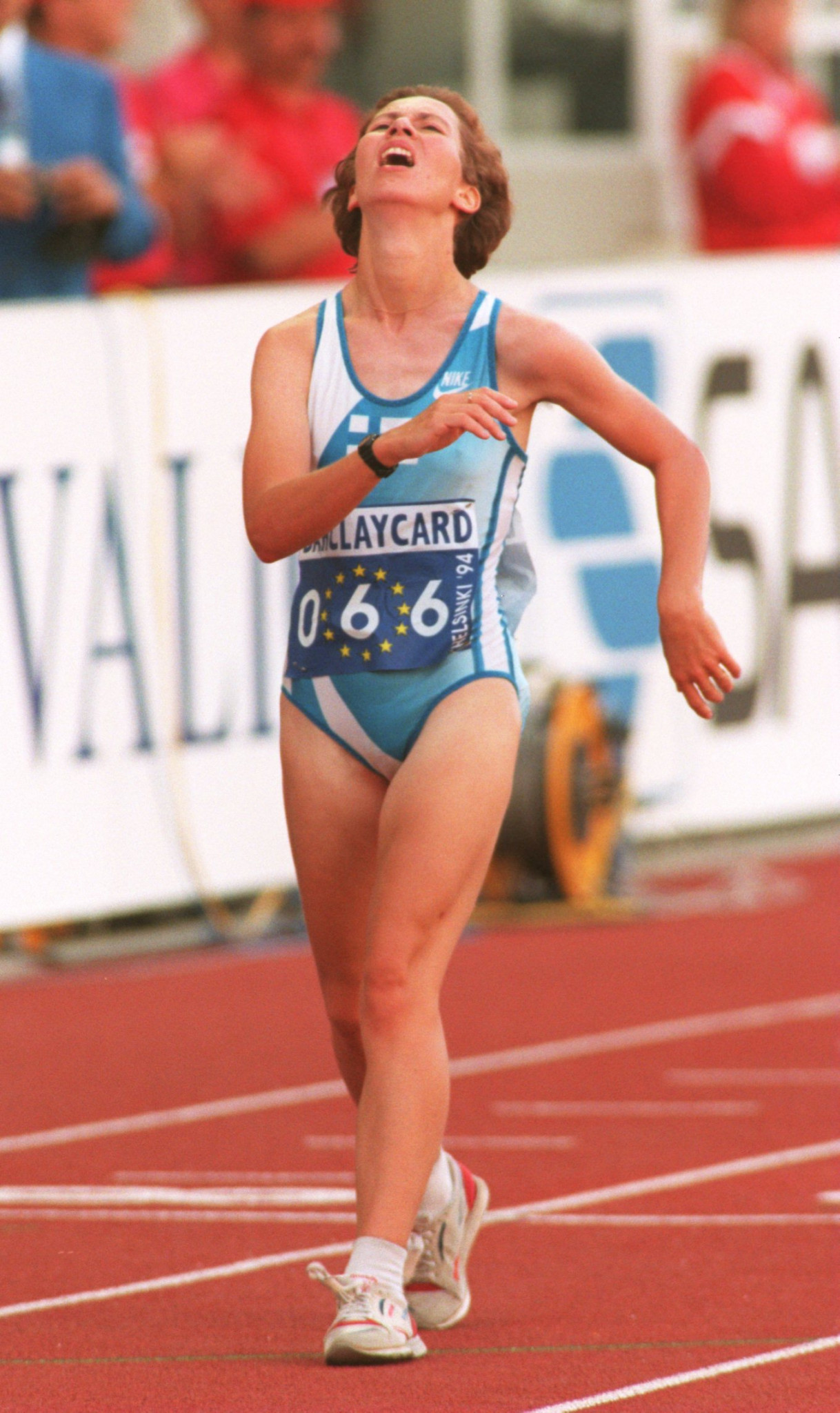 Sari Essayah is a former race walker and double Olympian ©Getty Images