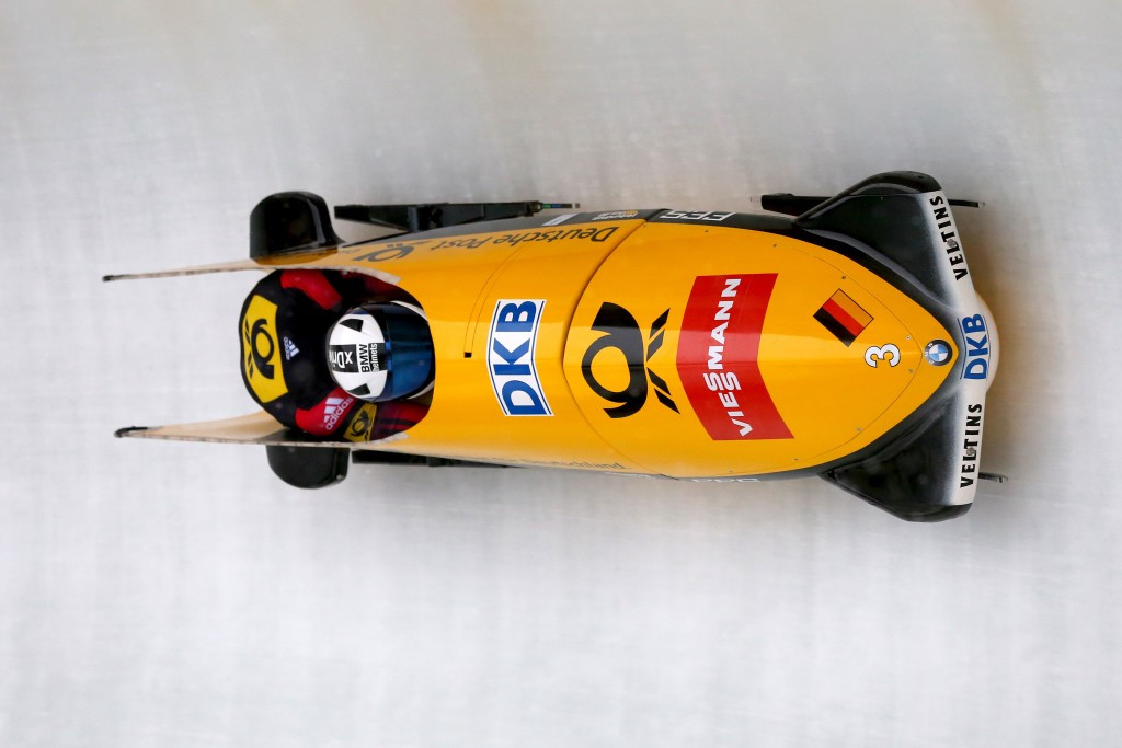 World champions dominate men's events at IBSF World Cup in Altenberg