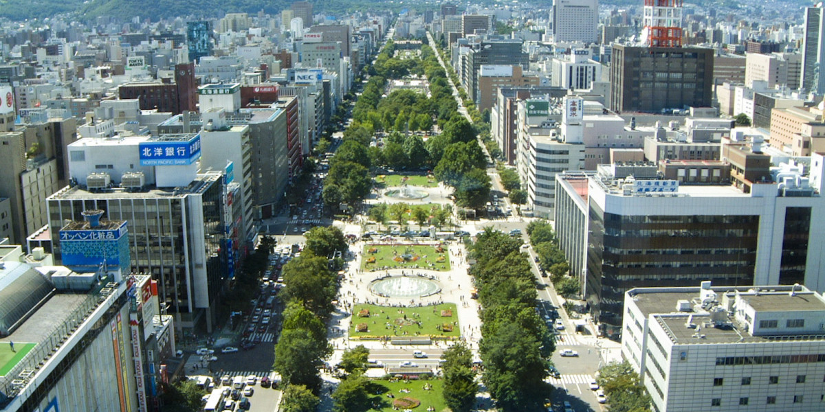 Odori Park in Sapporo is set to be the start and finish point for the events ©Sapporo Travel