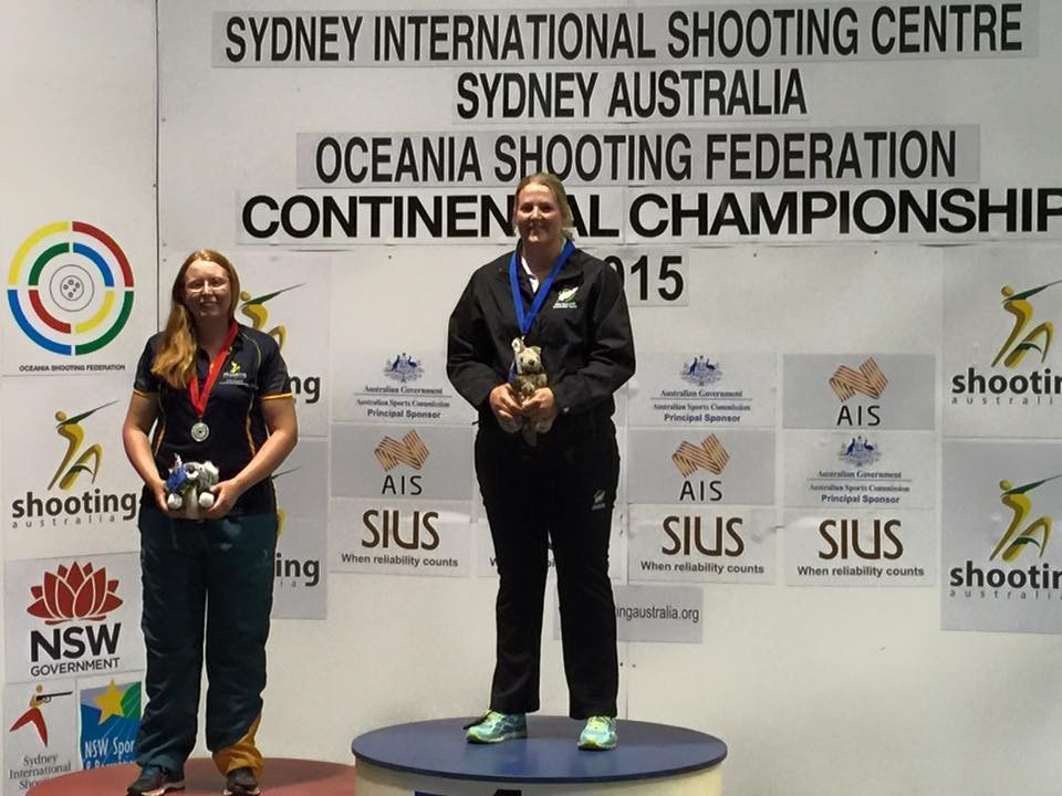 Rooney earns women's trap title at Oceania Shooting Championships