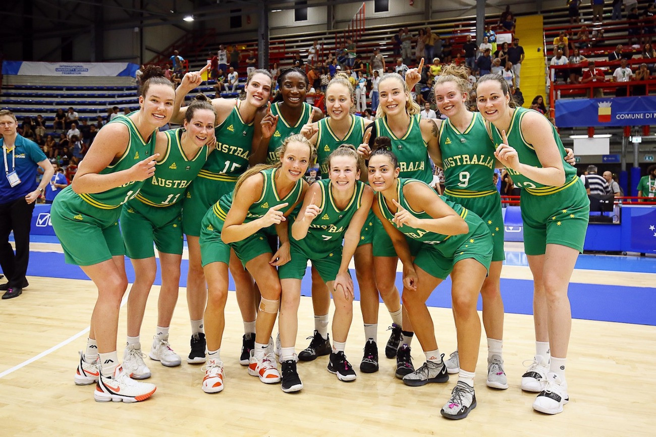 Australia UniRoos won the women's basketball competition at the 2019 Summer Universiade in Naples ©Australia UniRoos