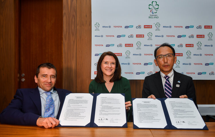 Paralympics Ireland has signed an agreement with Narita City to host the country's team's holding camp before the Tokyo 2020 Paralympic Games ©Paralympics Ireland