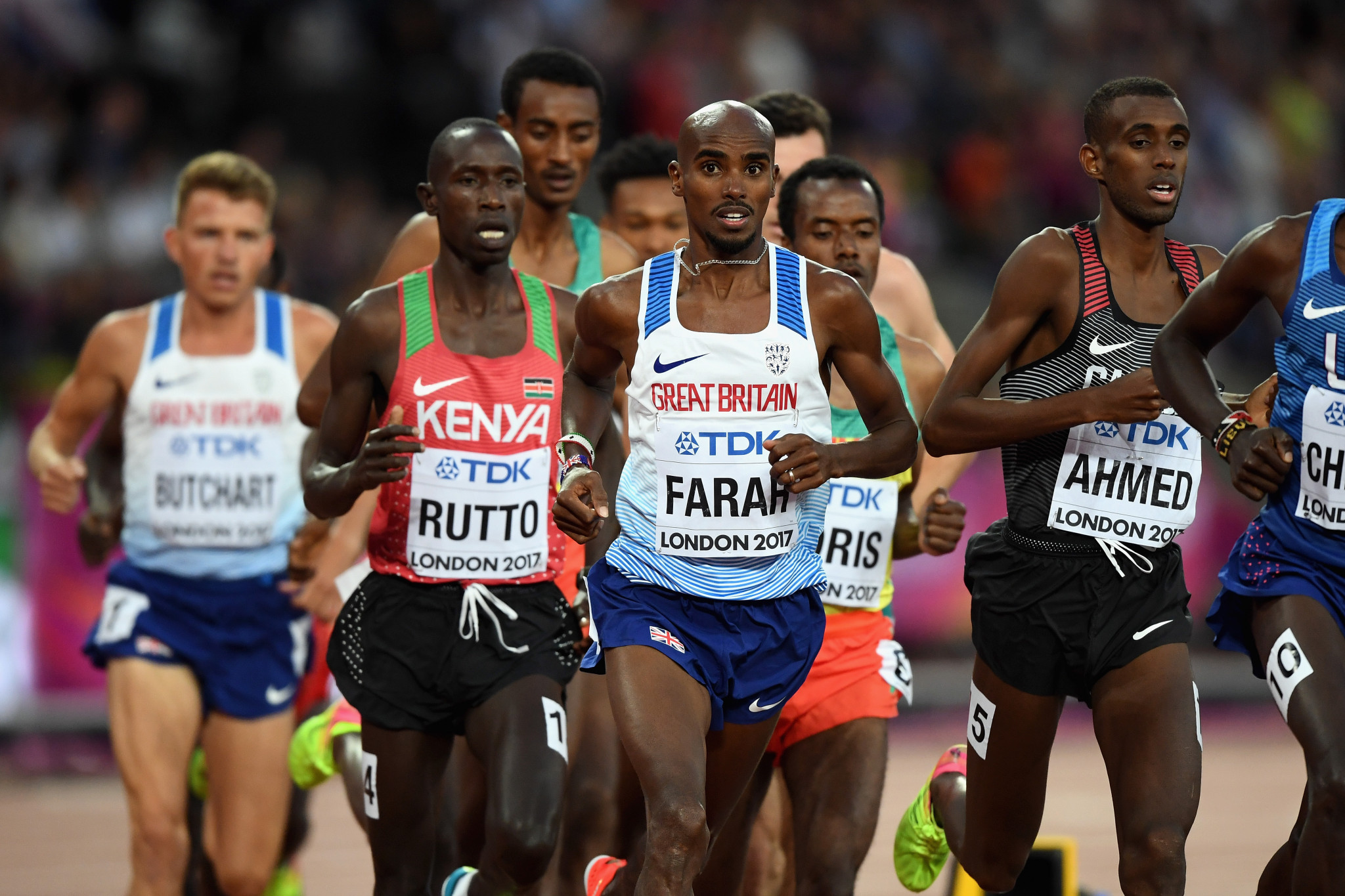 Cyrus Rutto had finished 13th in the 5,000m at the 2017 IAAF World Championships in London ©Getty Images