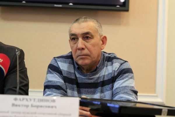 Viktor Farkhutdinov, the head coach of the Russian men's boxing team, claimed the event was held at a high level ©RBF