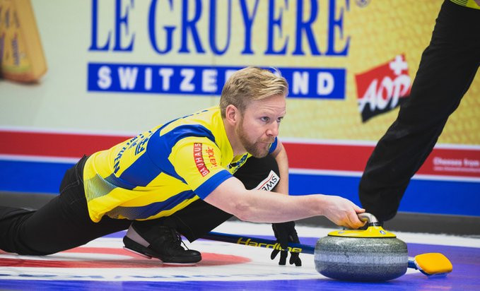 Hosts Sweden remain undefeated in men's event at European Curling Championships