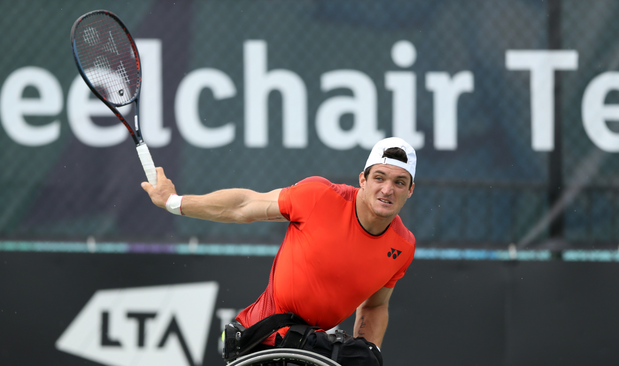 Argentina's Gustavo Fernández will be looking to claim success in the men's event at the NEC Wheelchair Singles Masters in Orlando ©Getty Images