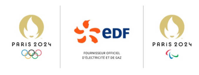 EDF is now the official electricity and gas supplier of the Paris 2024 Olympic and Paralympic Games ©Paris 2024