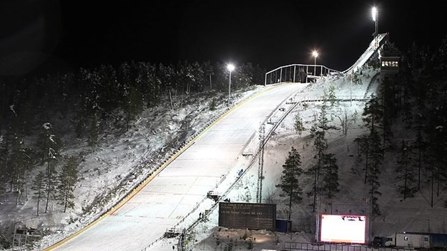 Ruka Ski Jumping World Cup cancelled due to strong wind