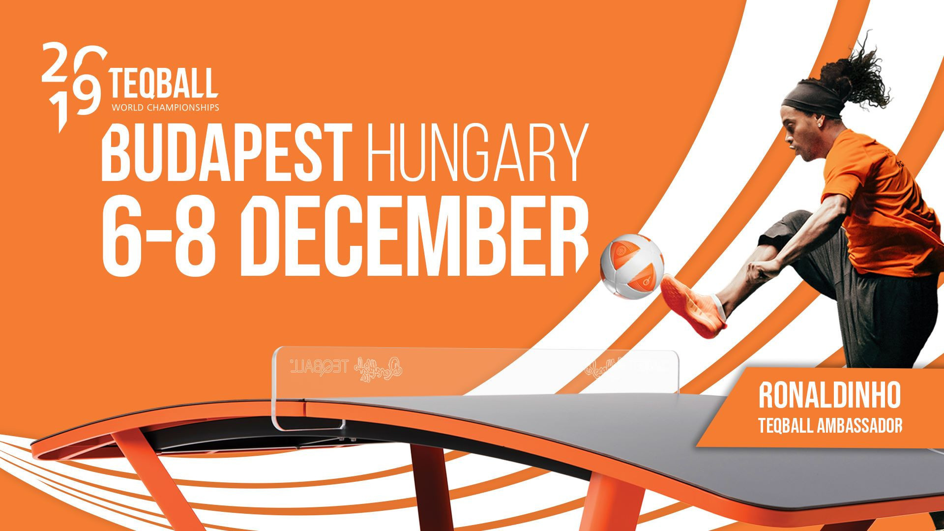 Budapest to host first Teqball World Championships next month