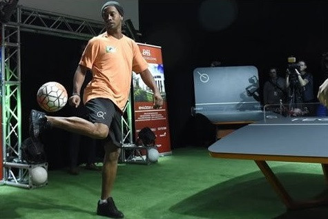 Ronaldinho will be among the stars in attendance at the event in Budapest ©FITEQ