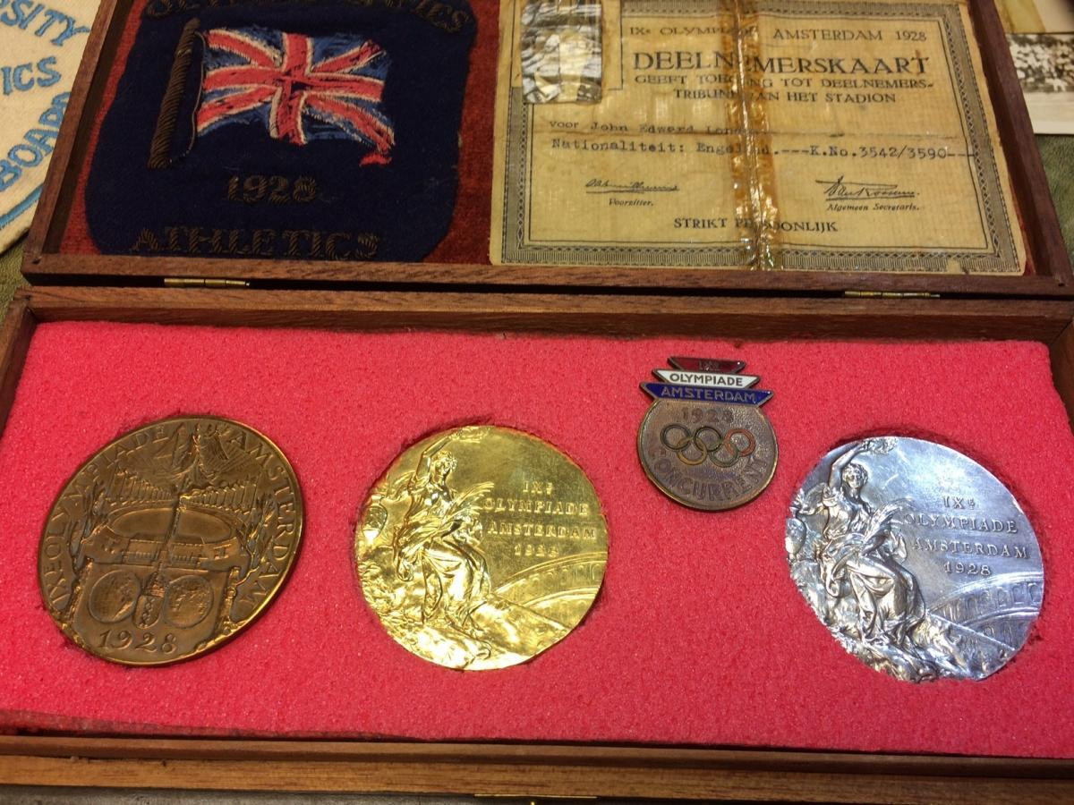 First Olympic medals won by black British athlete sell for £8,000