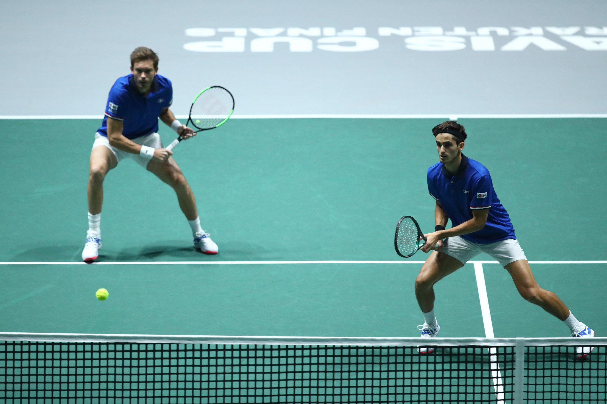 Nicolas Mahut and Pierre-Hugues Herbert helped France to a 2-1 win over Japan ©Getty Images