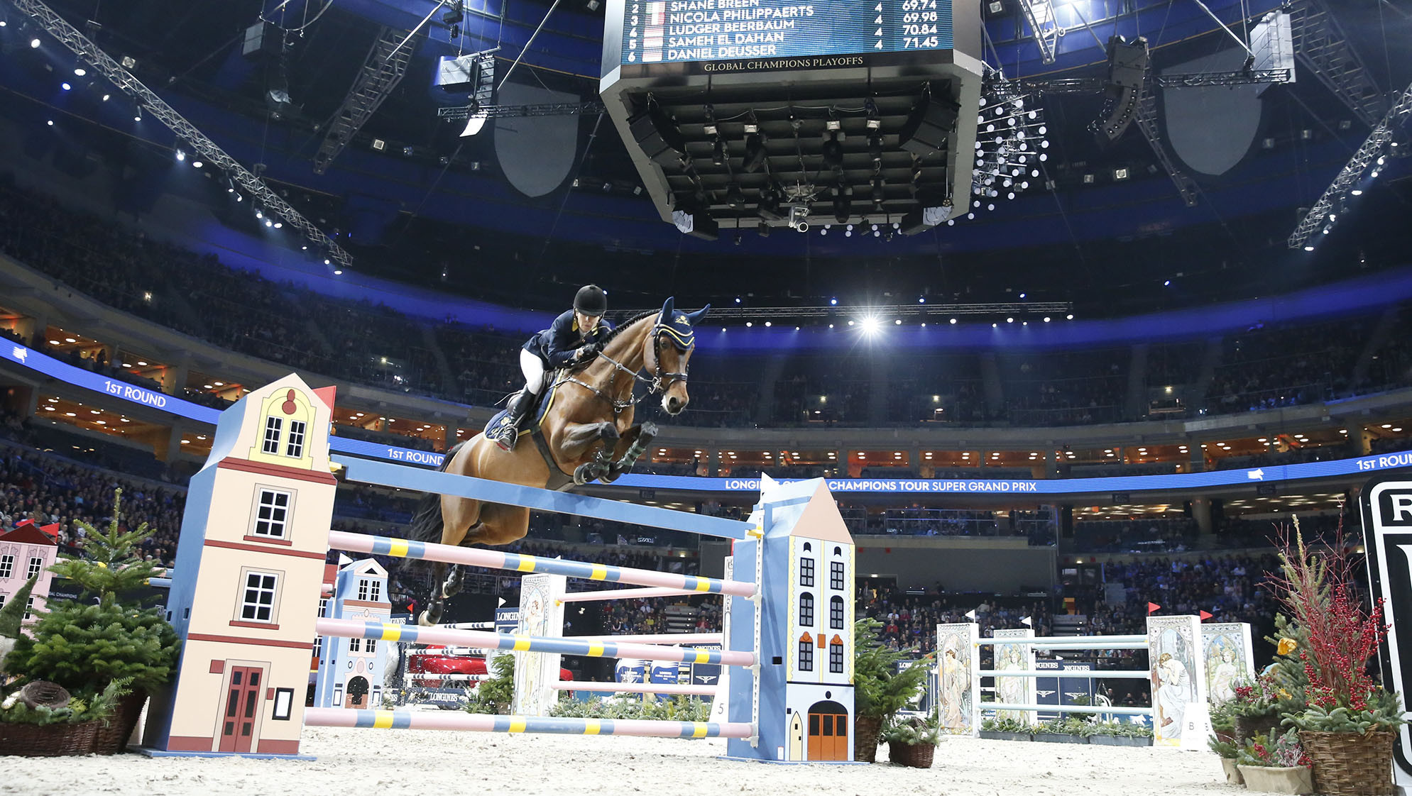 World's best showjumpers ready to compete at Global Champions Prague Playoffs
