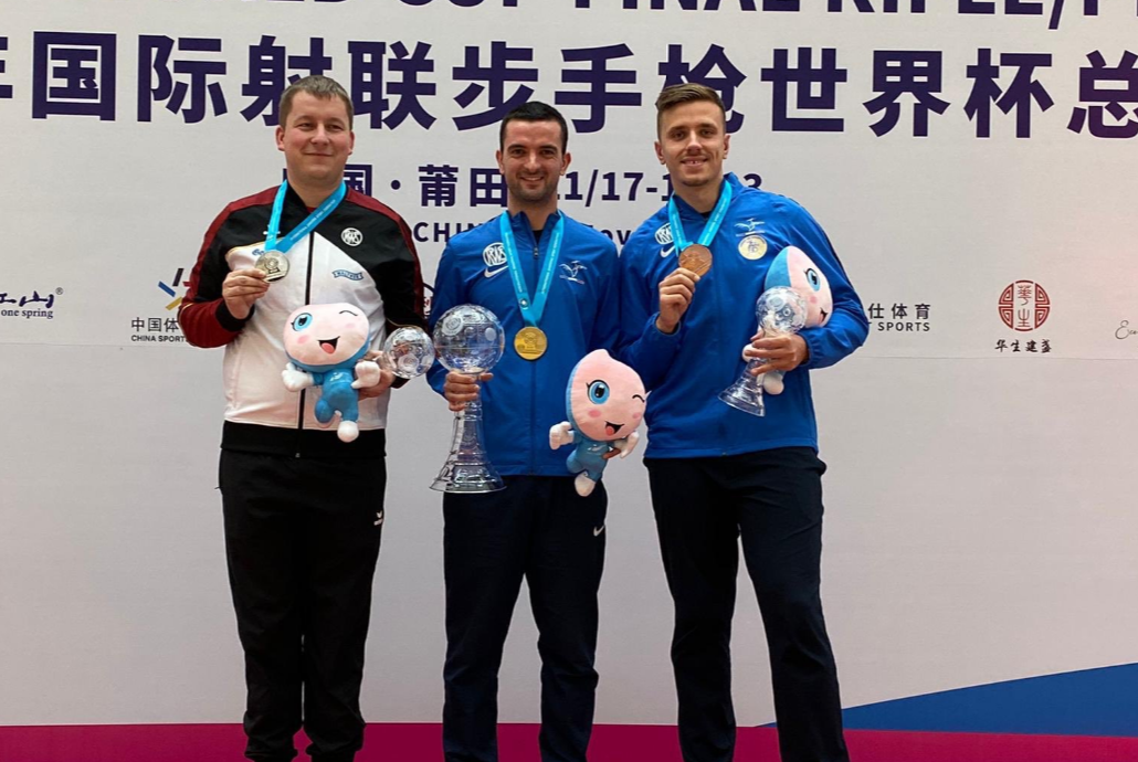 Bessaguet pips Olympic champion at ISSF World Cup in China