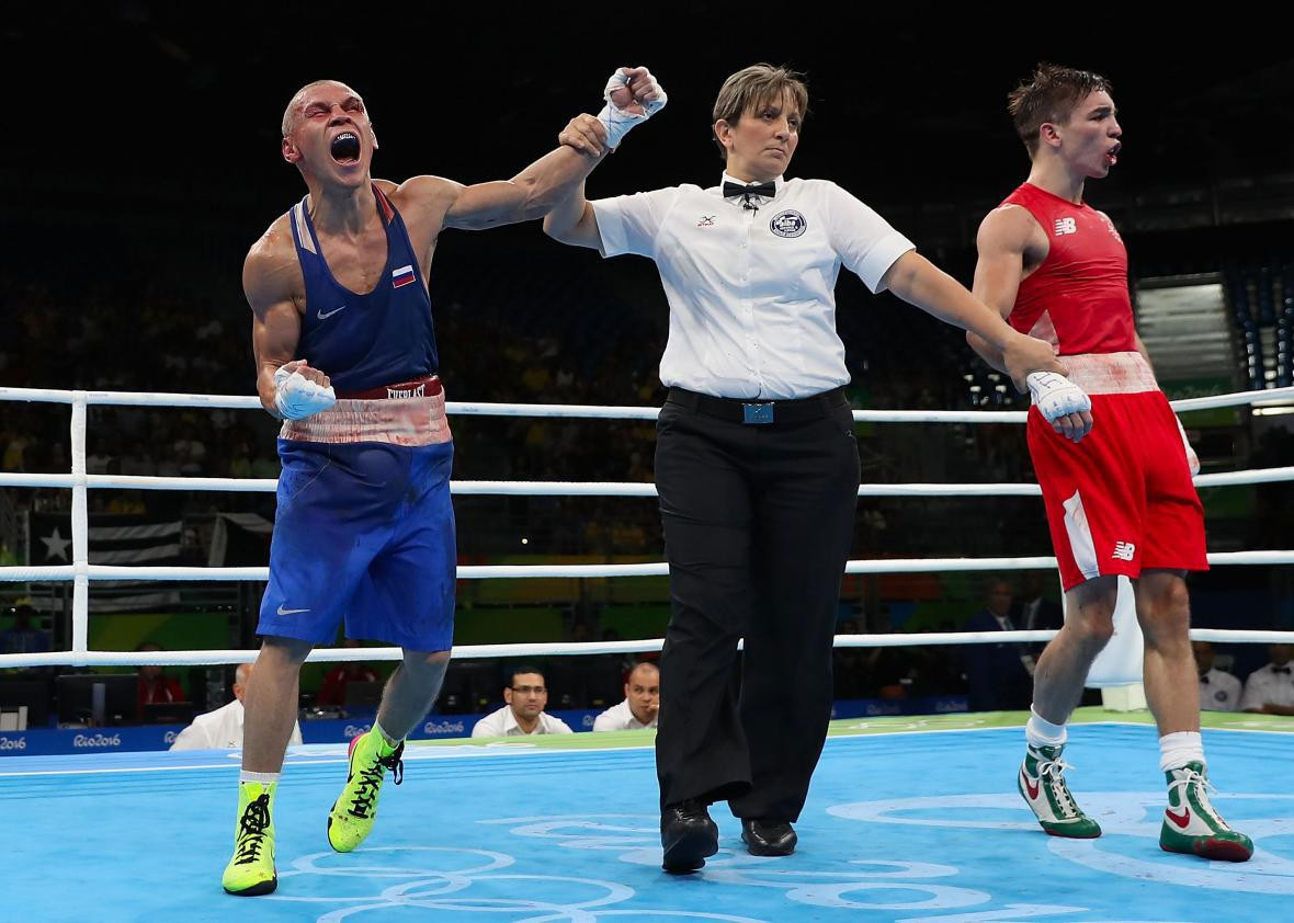 All 36 judges and referees who officiated at Rio 2016 were suspended by AIBA following a number of controversial decisions - now they have been banned from Tokyo 2020 ©Getty Images