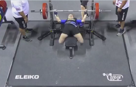 Two gold medals for Ukraine on day three of IPF World Open Powerlifting Championships
