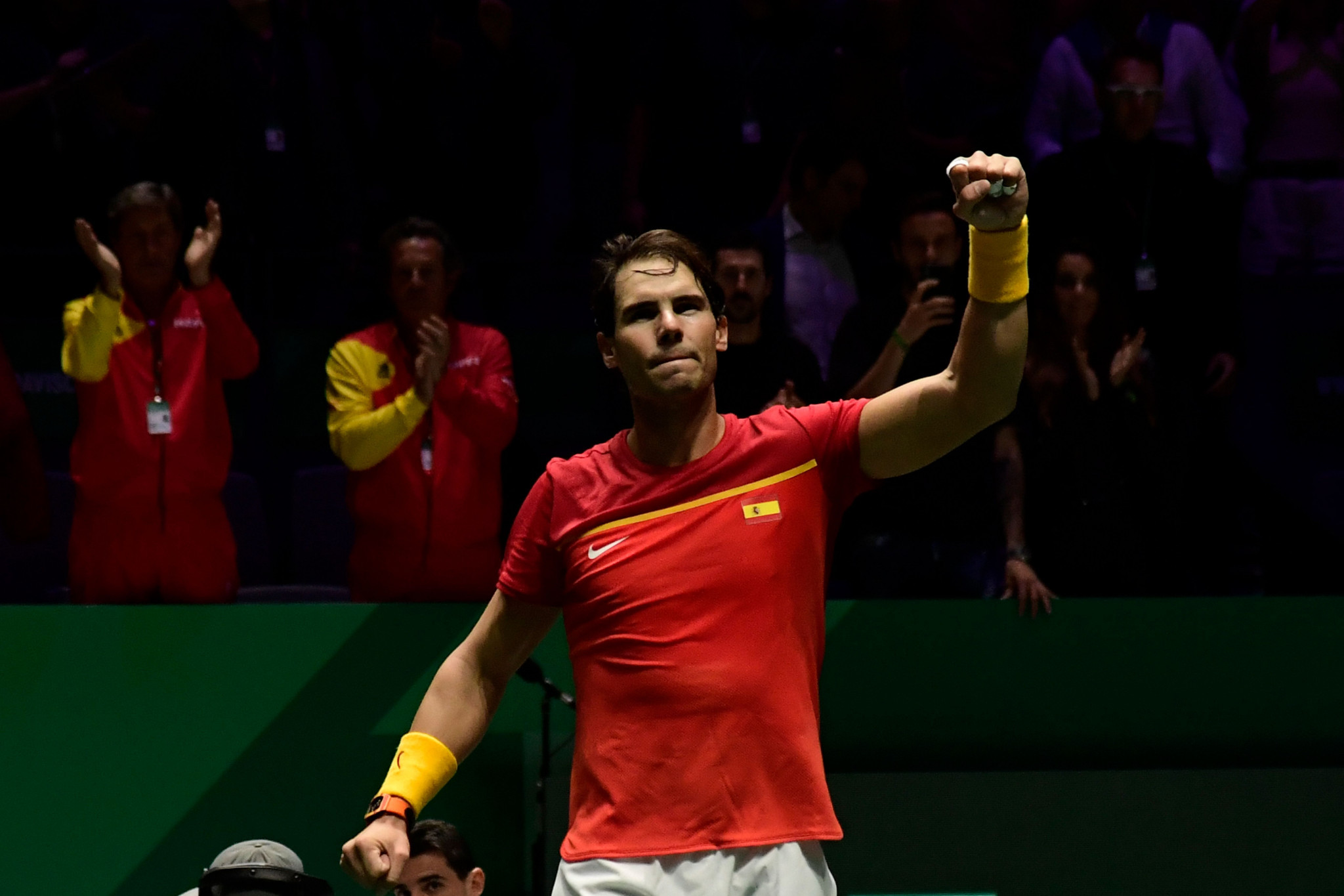 Croatia's Davis Cup reign ended by hosts Spain