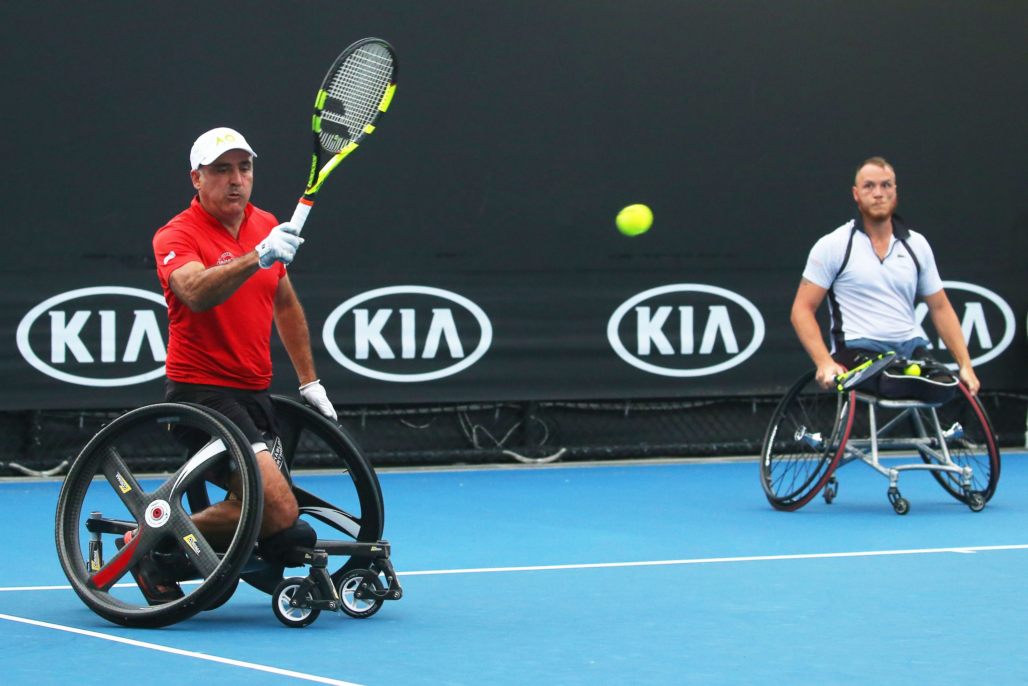 Houdet and Peifer make winning start to defence at UNIQLO Wheelchair Doubles Masters