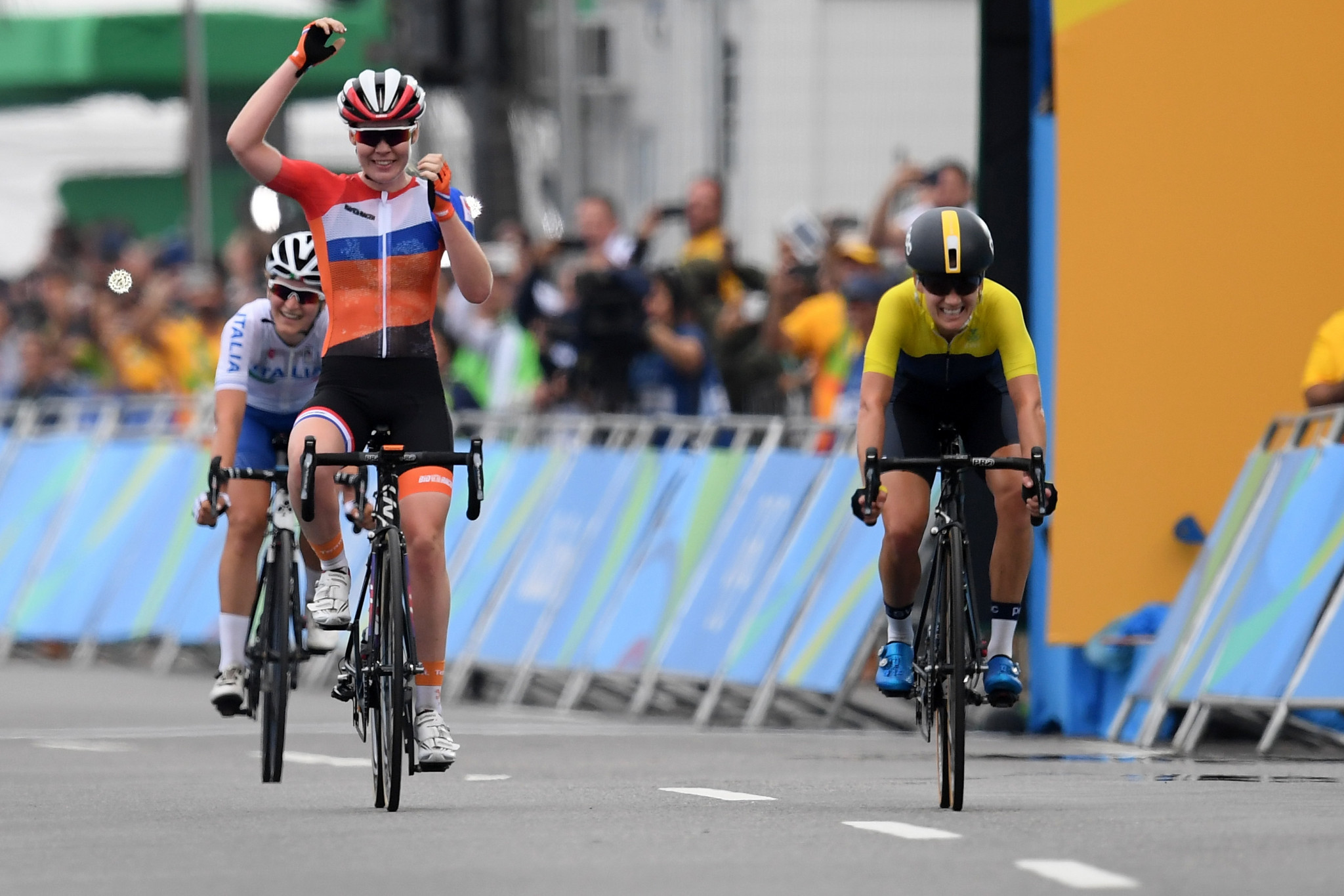 The Netherlands will have a full quota of riders for the women's road race ©Getty Images