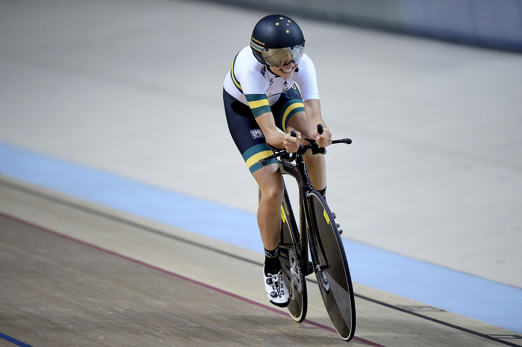 Emily Petricola claimed a gold and bronze medal at this year's World Championships in  Apeldoorn ©Getty Images