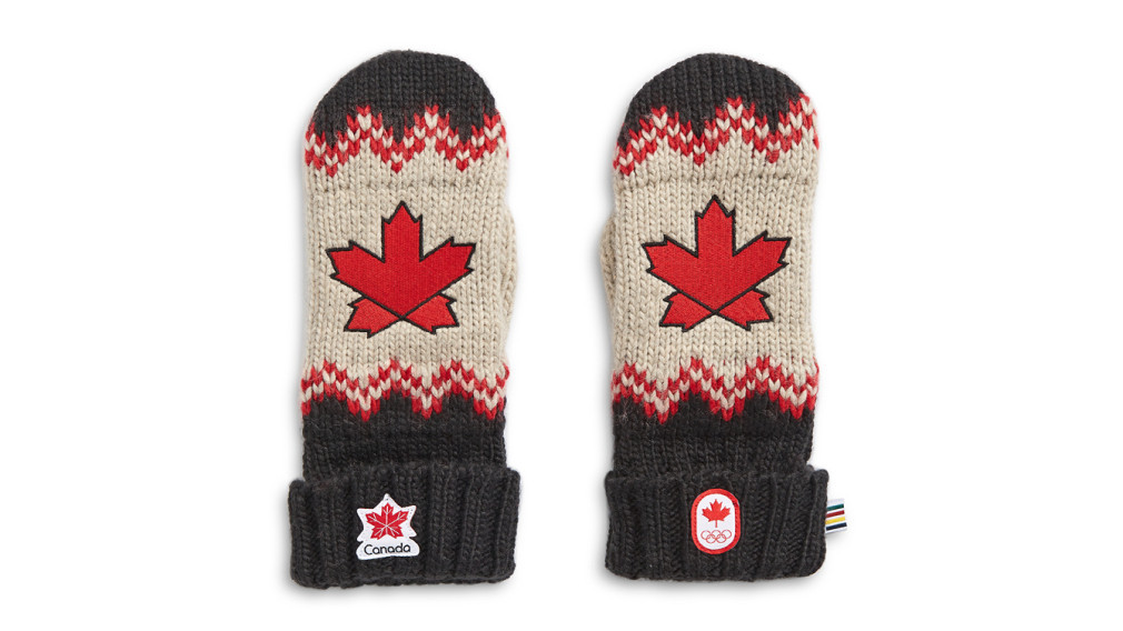 Canadian Olympic Committee's charitable organisation the beneficiary as National Red Mitten Day held