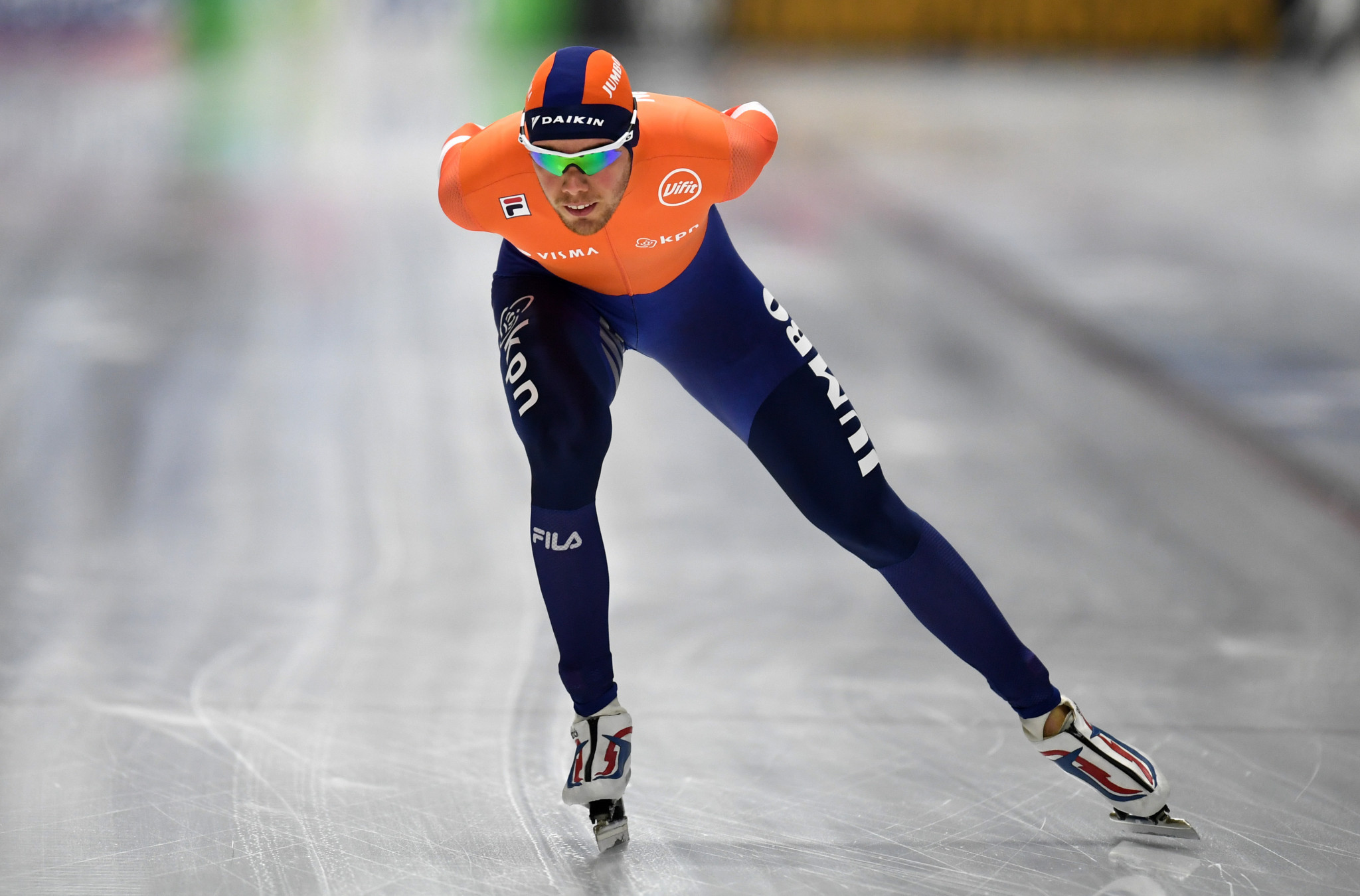 Dutch skater Patrick Roest will be the favourite in the men's 5,000m ©Getty Images