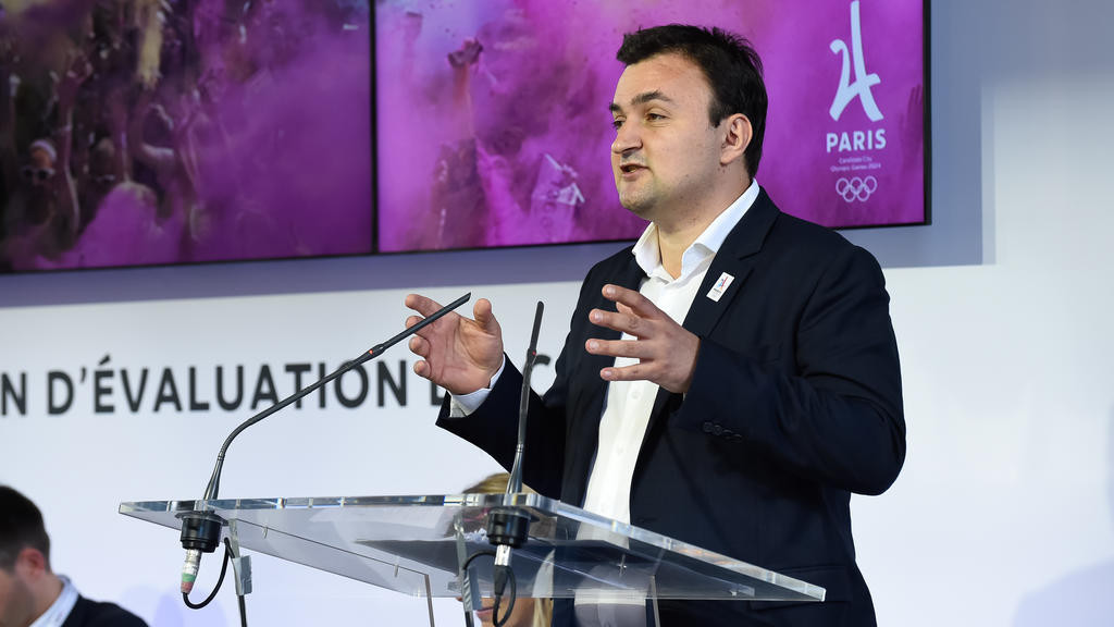 Paris' Deputy Mayor for Sport, Tourism and the Olympic Games Jean-François Martins has backed French hoteliers who are protesting about the IOC's new multi-million dollar deal with Airbnb ©Getty Images