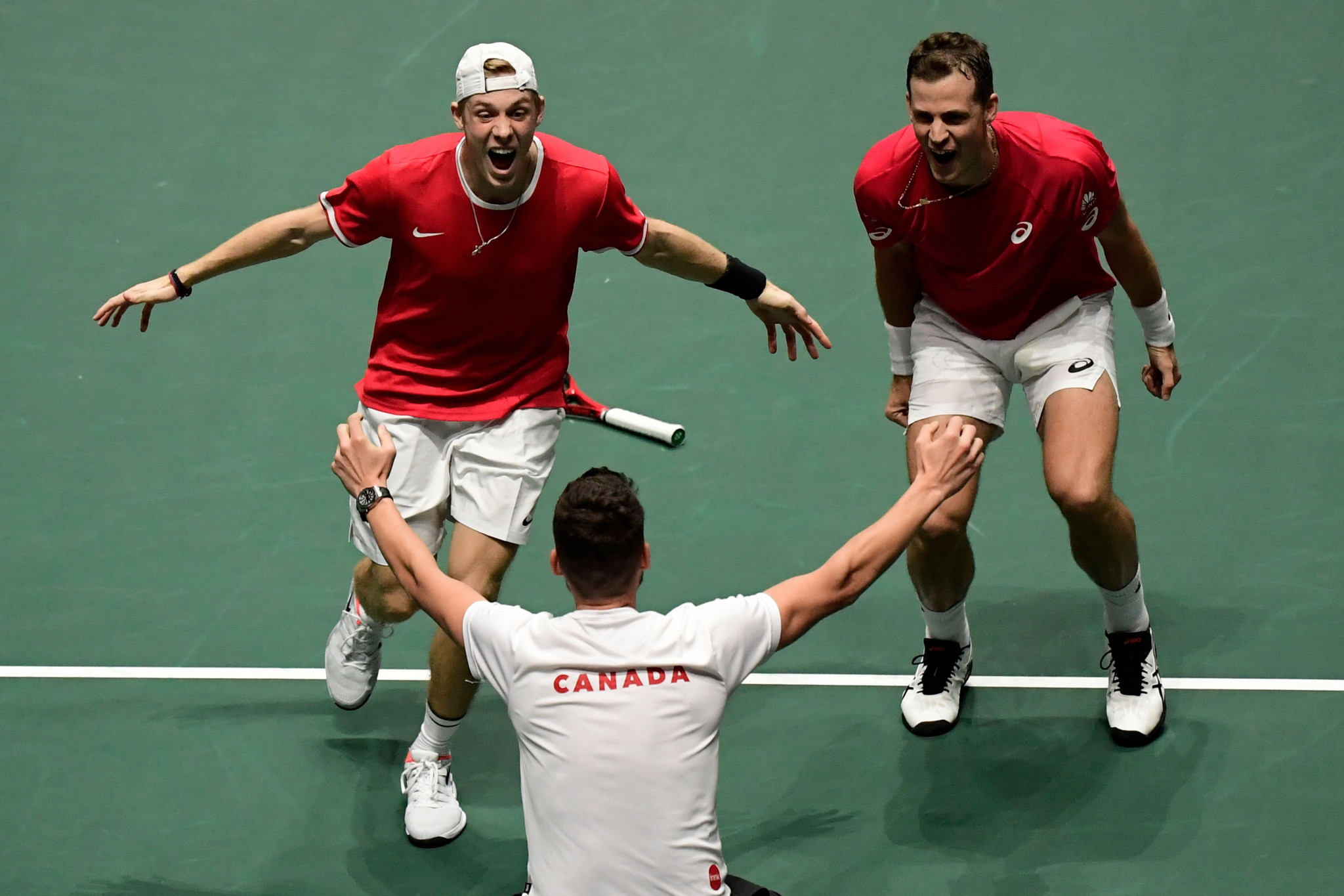 Canada clinch place in last four at Davis Cup Finals