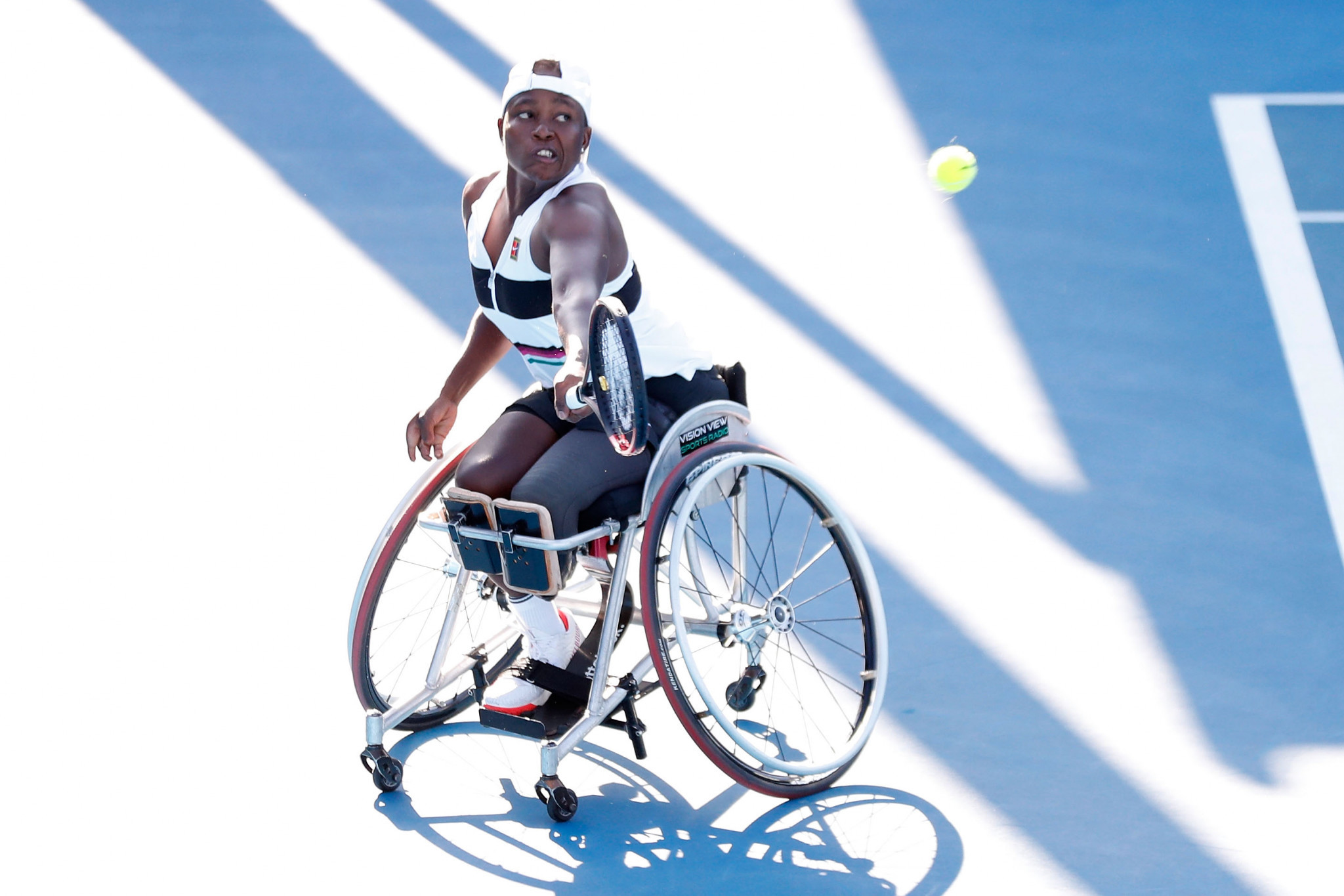 Montjane beats Van Koot to maintain bid for glory at NEC Wheelchair Singles Masters
