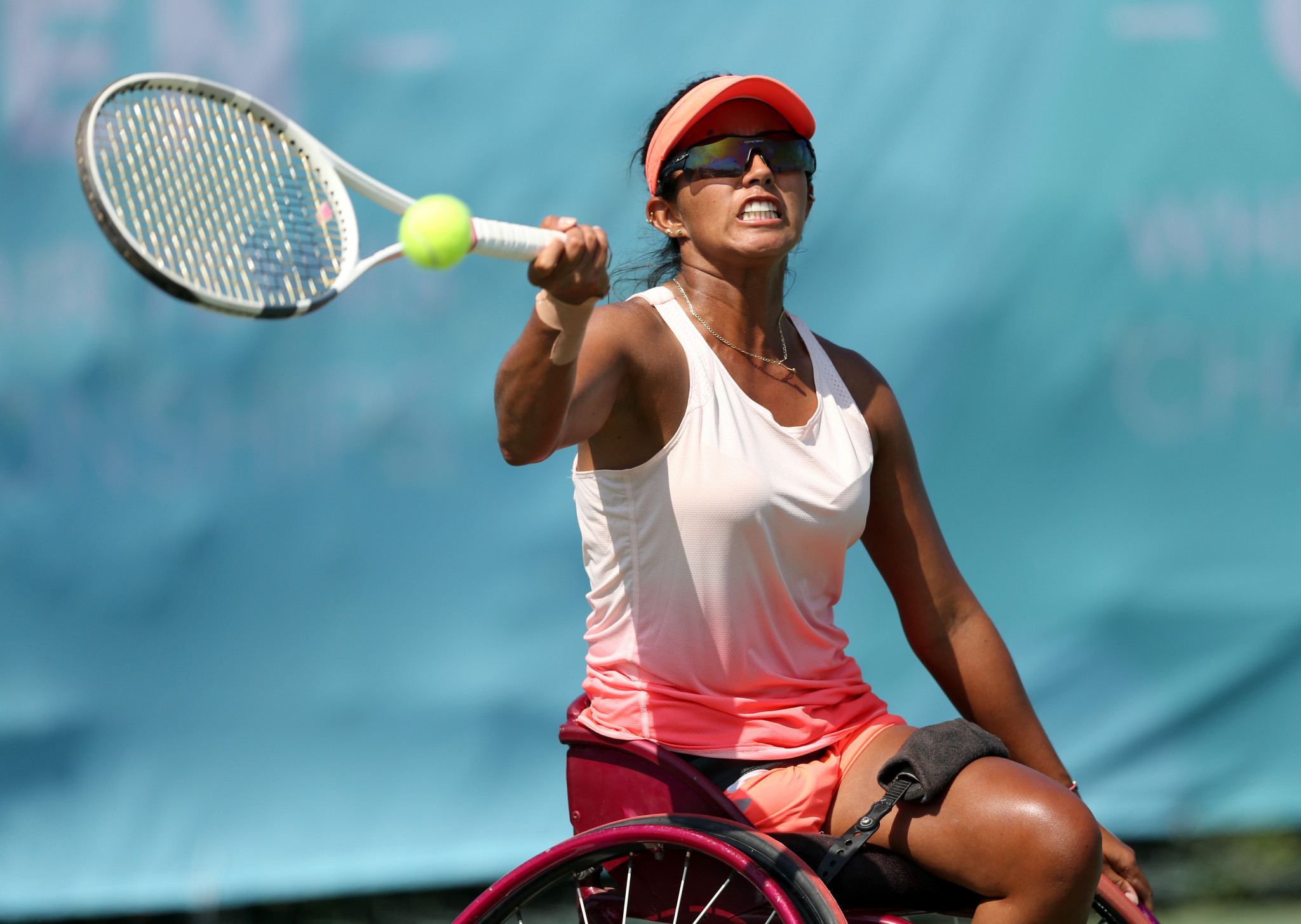 Colombian wheelchair tennis player wins APC Athlete of the Month