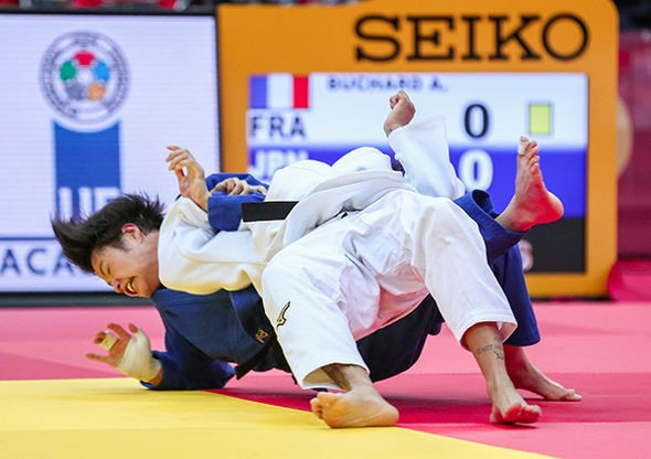 Abe win streak ends at IJF Grand Slam but brother keeps Tokyo 2020 hopes alive in Osaka