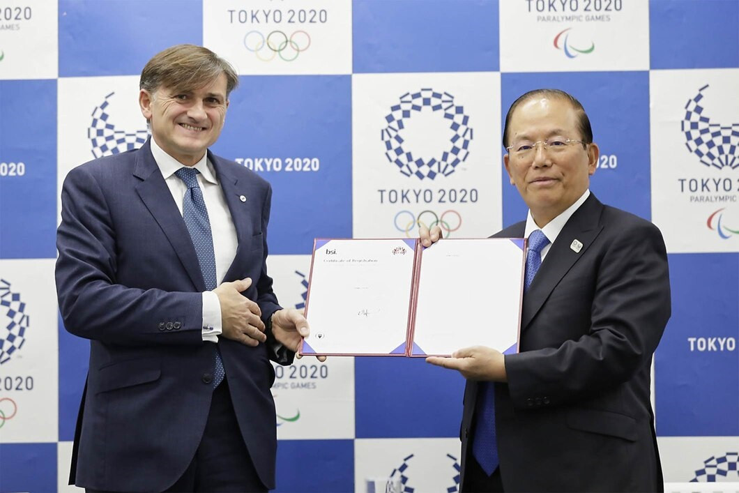Tokyo 2020 obtains international sustainability certification ISO 20121