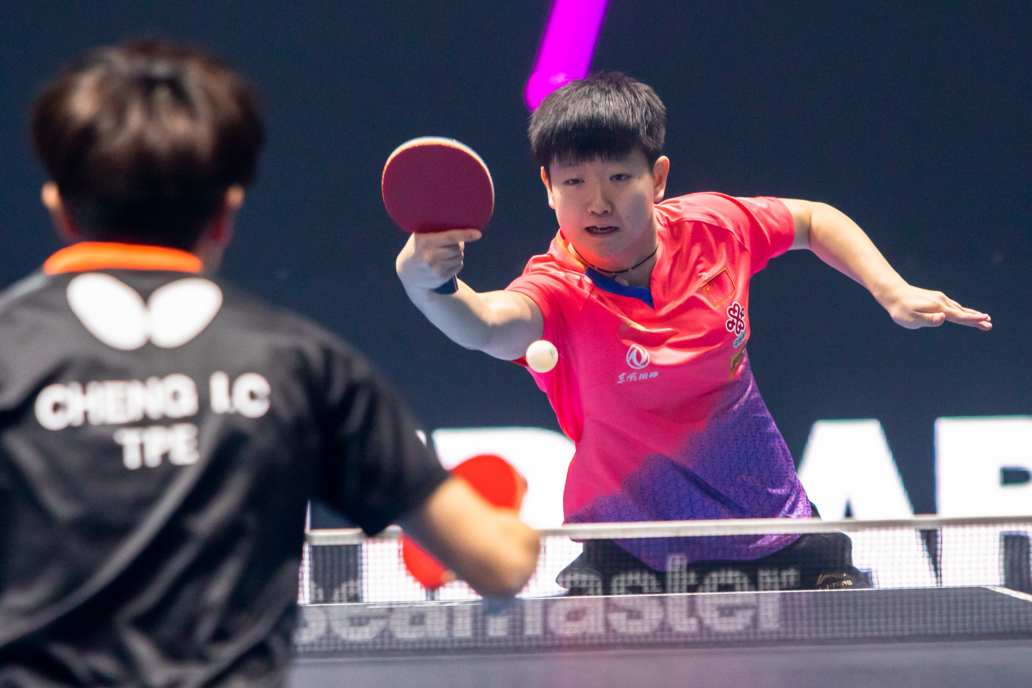 Sun Yingsha delivered one of the best performances on day two ©T2 Diamond