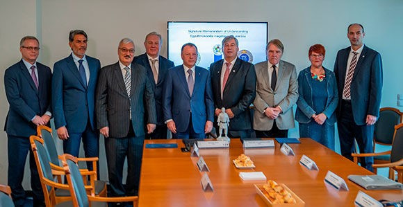 The IJF, its Academy and the university will cooperate on various projects under the terms of the deal ©IJF