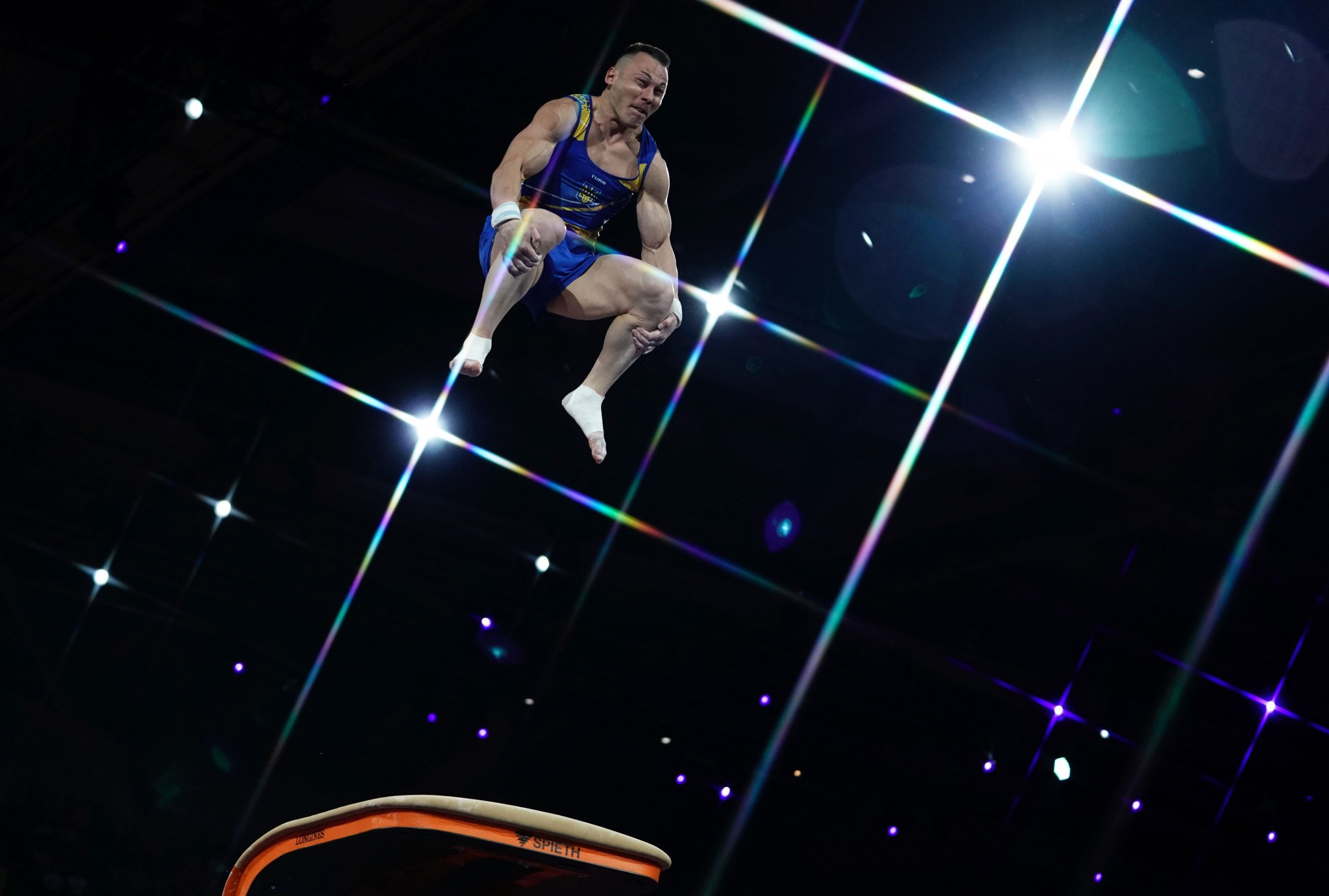 Radivilov leads vault qualifying at FIG Apparatus World Cup