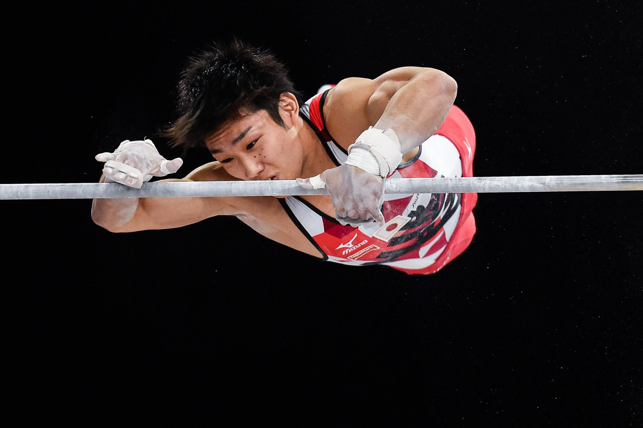 Hidetaka Miyachi topped men's horizontal bar qualification ©Getty Images