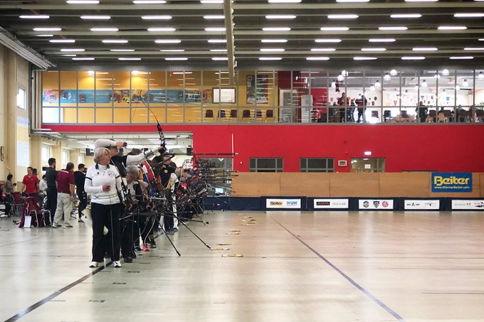 Gibson impresses in World Archery Indoor Series qualification in Luxembourg