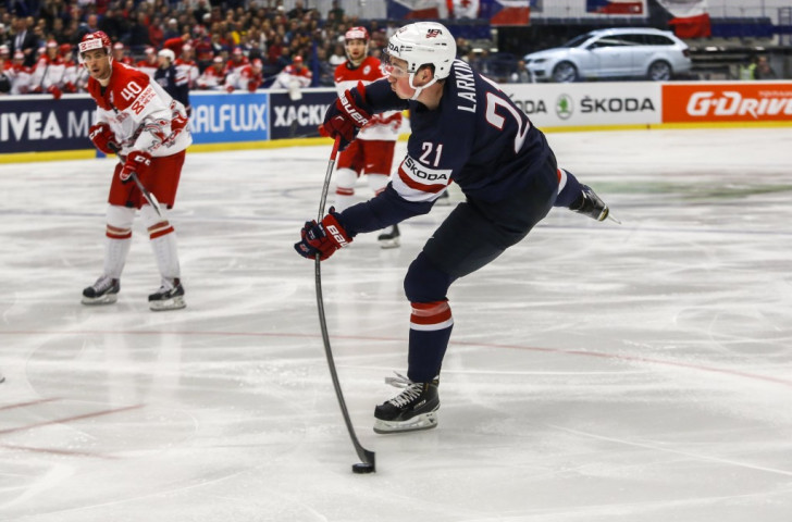 United States bounce back from Belarus defeat with narrow win over Denmark at Ice Hockey World Championship