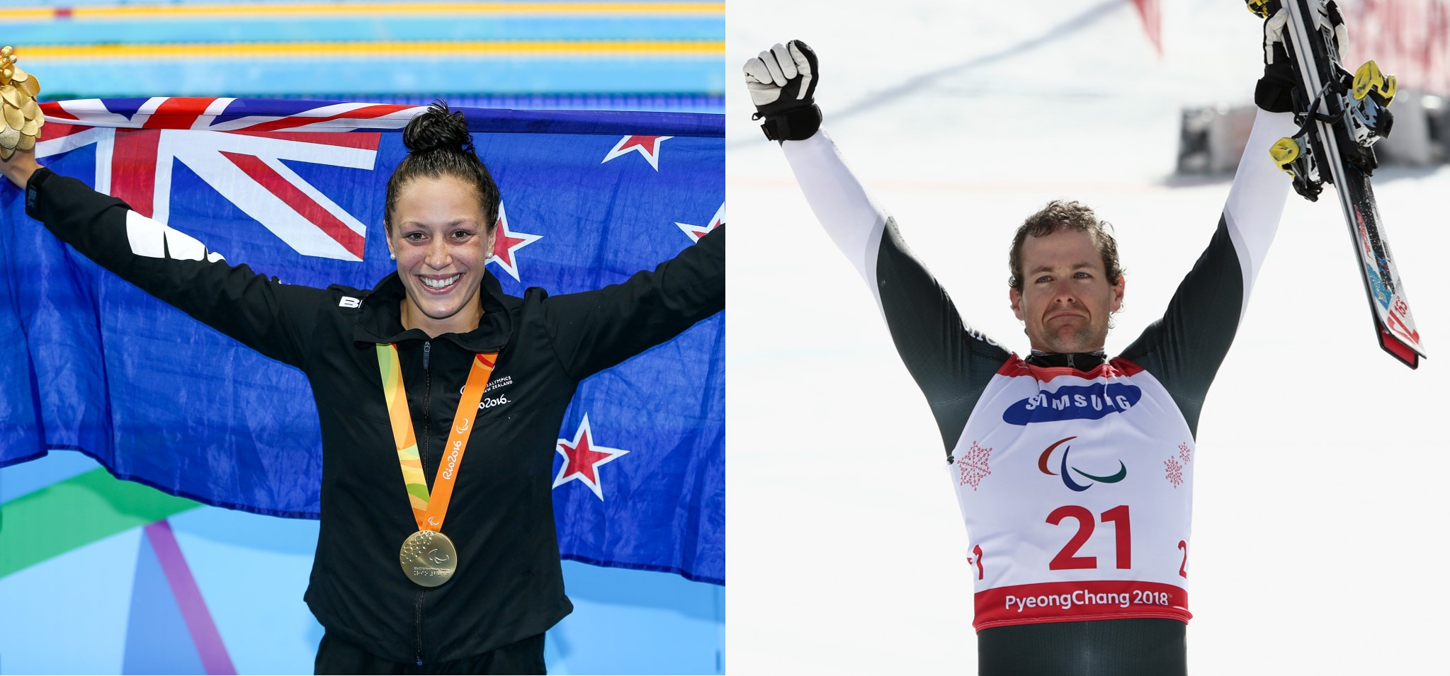 Pascoe and Hall named summer and winter Paralympians of the decade in New Zealand