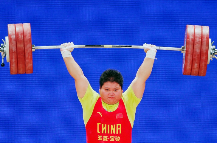 China's Suping Meng had to settle for three silver medals in the women's over 75kg category yet again