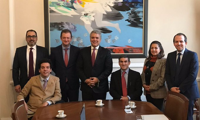 "IPC hold ""extremely productive"" meeting with Colombian President"