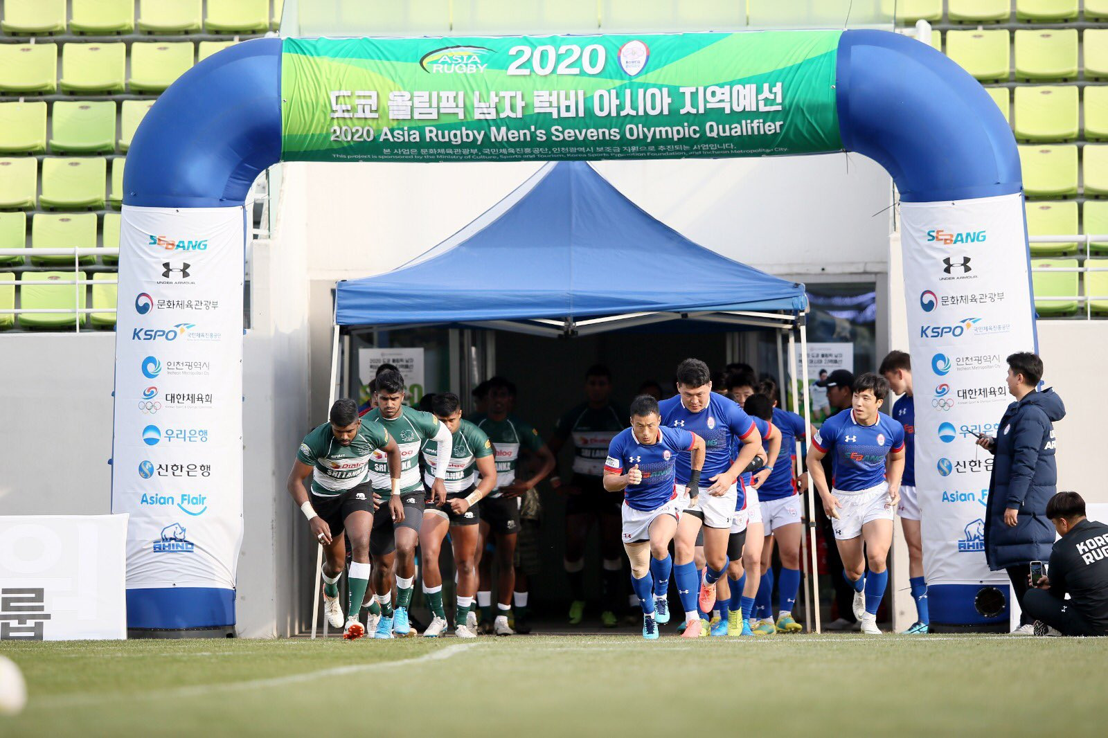 Hong Kong reach quarter-finals at Asian men's rugby sevens Olympic qualifier