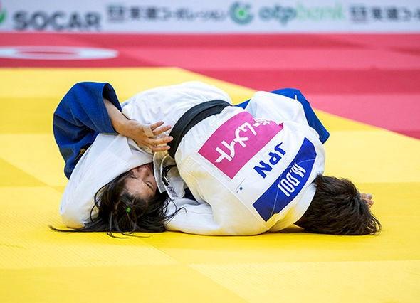 Japanese judokas dominate second day of IJF Osaka Grand Slam