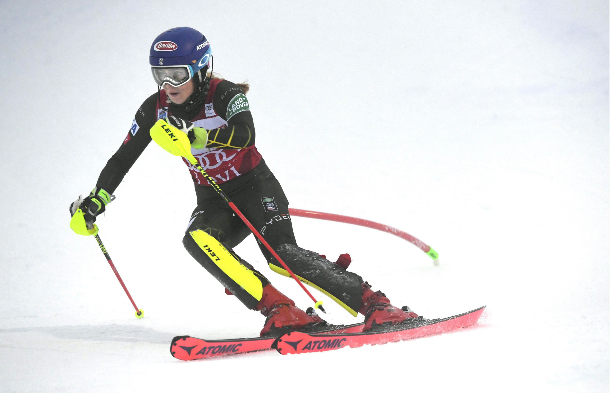 Shiffrin breaks record for slalom victories at FIS Alpine Skiing World Cup