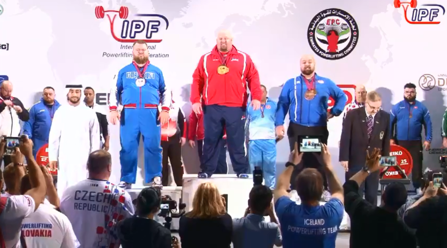 Sumner triumphs on final day of IPF World Open Powerlifting Championships