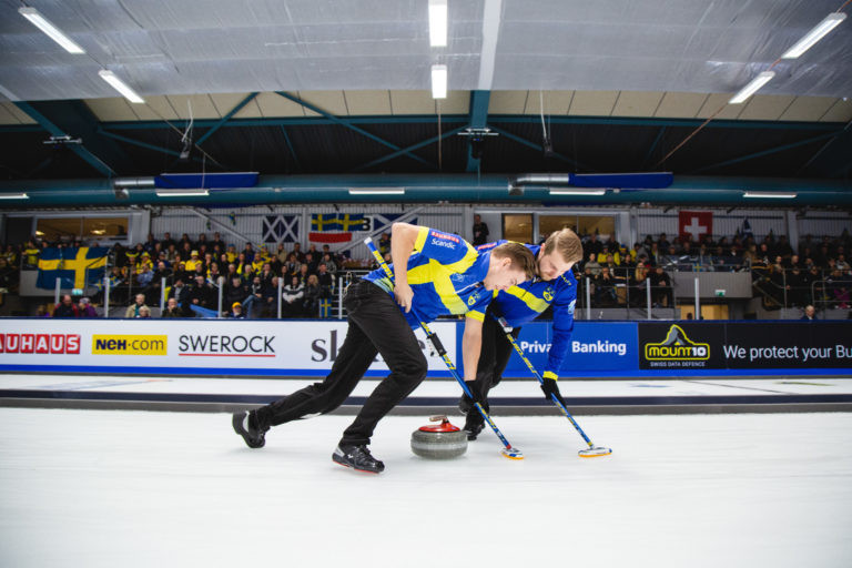 Sweden clinch men's and women's titles at European Curling Championships