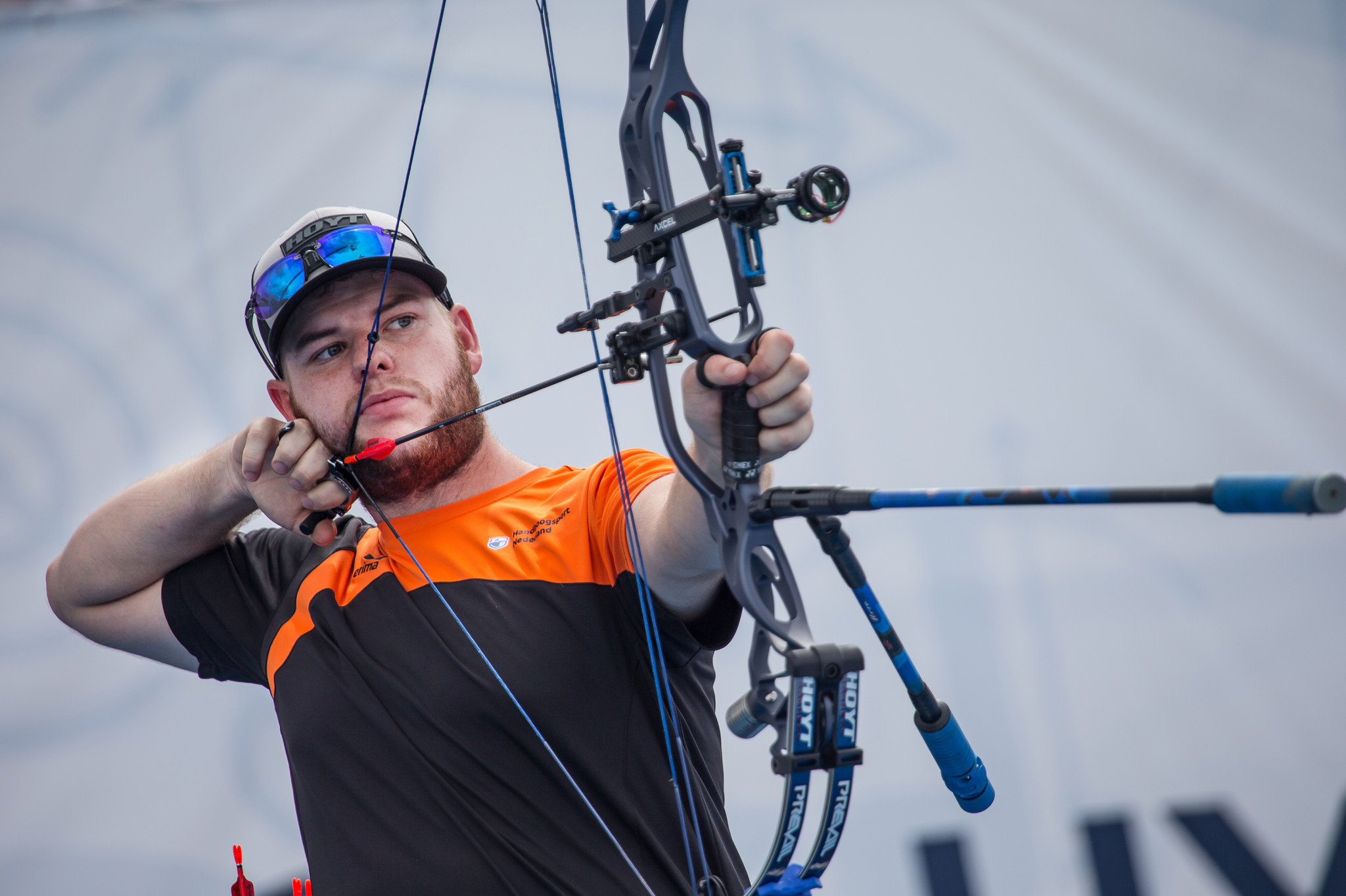Schloesser impresses on second day at World Archery Indoor Series in Luxembourg