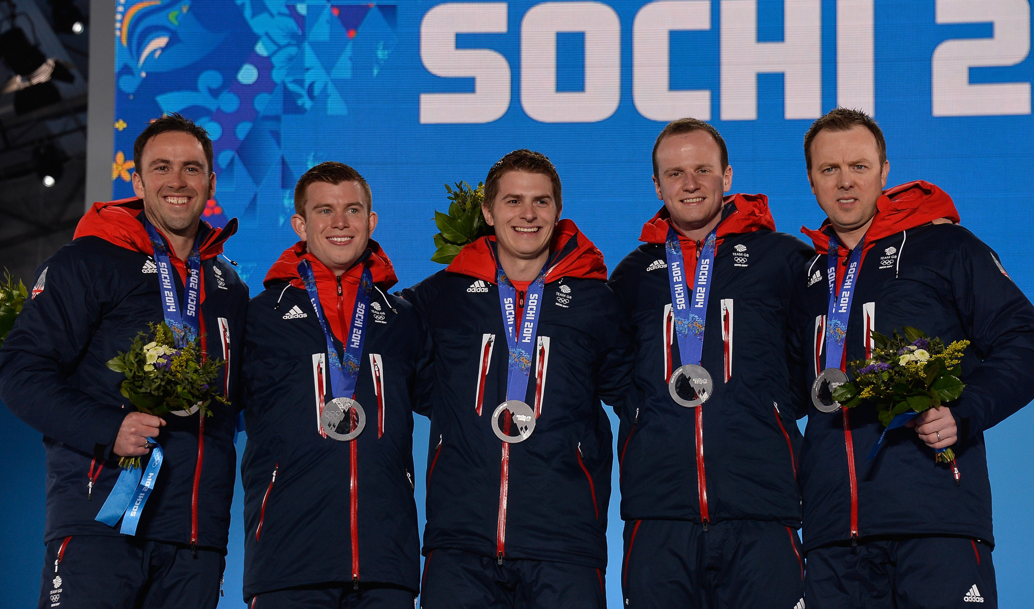Britain's men's team won silver at the Sochi 2014 Winter Olympic Games ©Getty Images