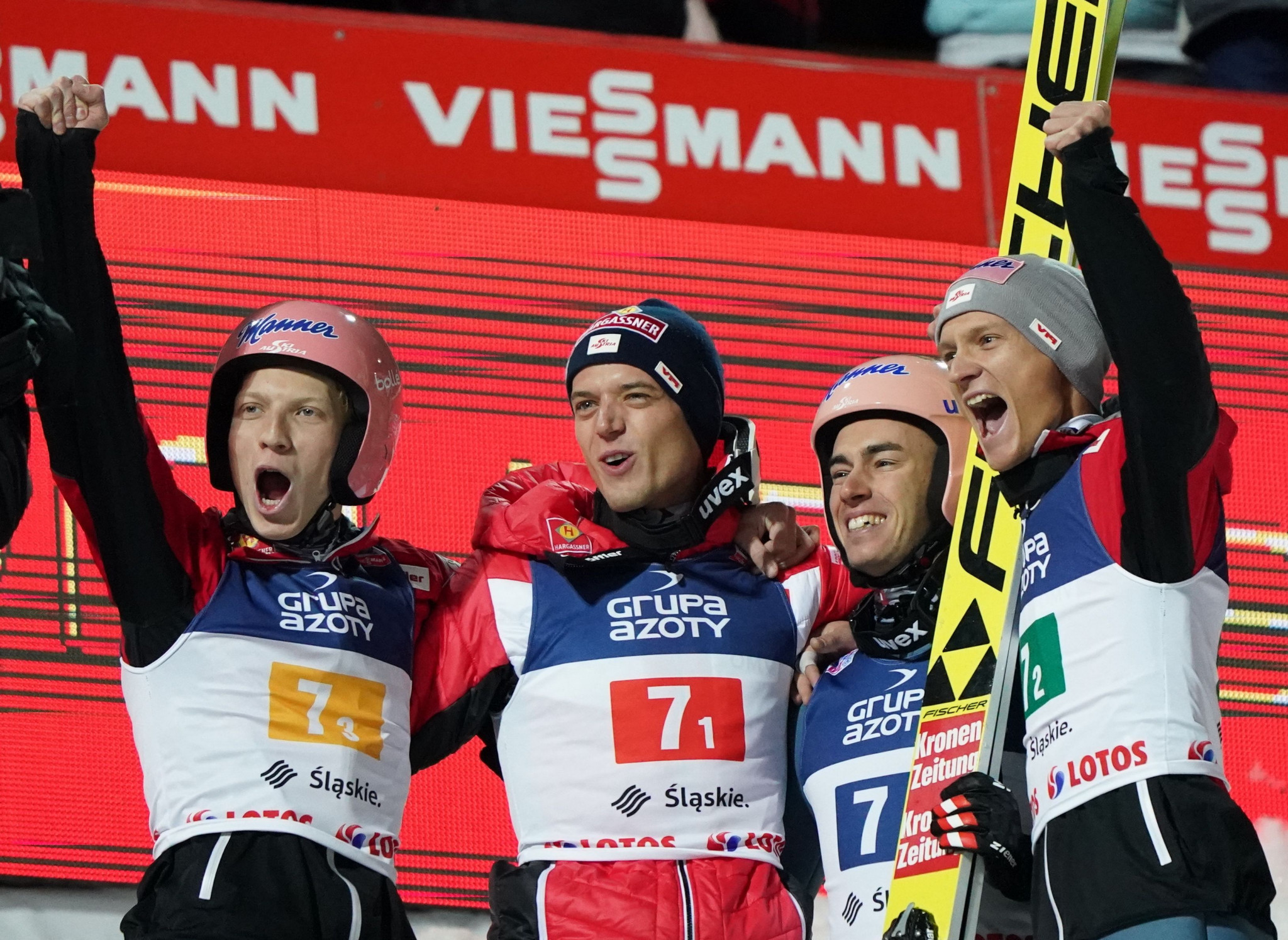 Austria win team event as FIS Ski Jumping World Cup season begins