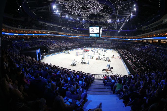 Competition took place at the O2 Arena in Prague ©Twitter/GCT_events
